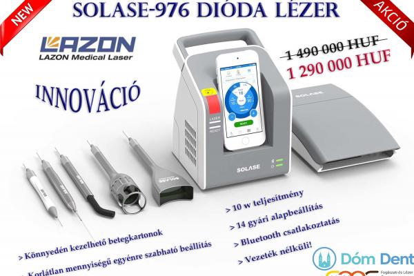 Solase Dental Dióda lézer akció